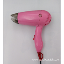 700-900W Foldable Mini Hair Dryer with Diffuser
